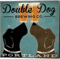 Double Dog Brewing Co. Fine Art Print