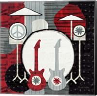 Rock 'n Roll Drums Fine Art Print