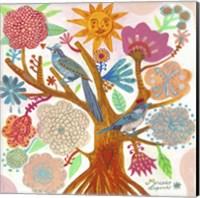 Sun Tree Fine Art Print
