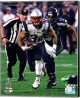 Shane Vereen Super Bowl XLIX Action Fine Art Print