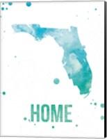 Florida Watercolor - Home Fine Art Print