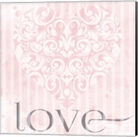 Paris Love English 01 Fine Art Print