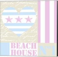 Beach House Love Fine Art Print