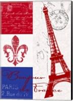 Bonjour de France Fine Art Print