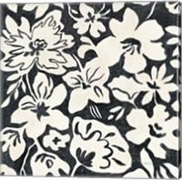 Chalkboard Floral II Fine Art Print