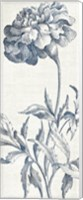 Eden III  Indigo and White Fine Art Print