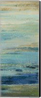 Blue Indigo Panel II Fine Art Print