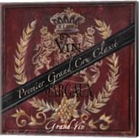 Grand Vin Wine Label IV Fine Art Print