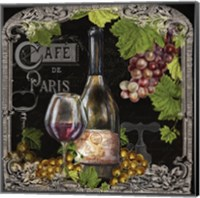 Cafe de Vins Wine II Fine Art Print