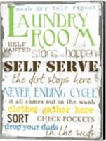 Laundry Room 2 Fine Art Print