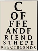 Coffee Chart Fine Art Print