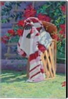 Blanket & Stool Fine Art Print