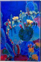 Prickly Pear Blue Fine Art Print