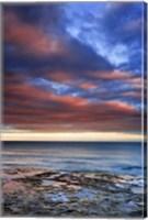 Wisconsin Sunrise on shore of Lake Michigan Fine Art Print