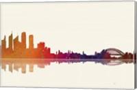 Sydney NSW Skyline 3 Fine Art Print