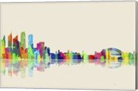 Sydney NSW Skyline 1 Fine Art Print