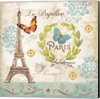 Le Papillon Paris I Fine Art Print