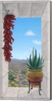 Aloe and Chilis I Fine Art Print