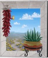 Aloe and Chilis II Fine Art Print