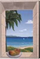 Hawaiian Fantasy with Mangoes Fine Art Print