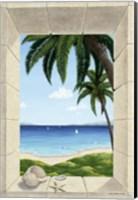 Hawaiian Fantasy with Shells Fine Art Print
