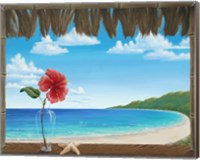 Una Playa Perfecto Fine Art Print