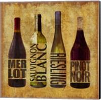 The Wine Up 1 Fine Art Print