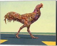 Head-on Chicken Fine Art Print