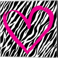 Zebra Love Fine Art Print
