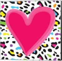 Leopard Heart 1 Fine Art Print