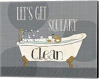 Squeaky Clean I Fine Art Print