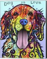 Dog Is Love Fine Art Print