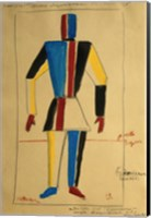 Study for a Man, 1913 Fine Art Print