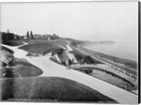 Juneau Park and Lake Michigan, Milwaukee Fine Art Print