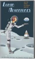 Lunar Adventures Fine Art Print