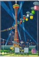 Seattle World's Fair 1962 I Fine Art Print