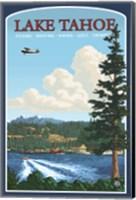 Lake Tahoe Fishing Boating Fine Art Print