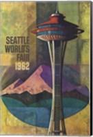 Seattle World's Fair 1962 II Fine Art Print