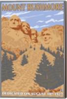 Mount Rushmore 1927 Ad Fine Art Print