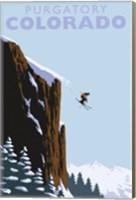 Purgatory Colorado Ski Jump Fine Art Print