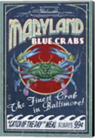 Maryland Blue Crabs Fine Art Print