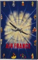 Air France by P. Chanove Fine Art Print