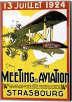 Strasbourg Aviation Fine Art Print