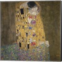 The Kiss,  1907-1908 Fine Art Print