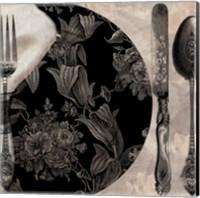 Victorian Table I Fine Art Print