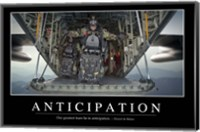 Anticipation: Inspirational Quote and Motivational Poster Fine Art Print