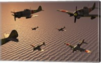 Japanese Nakajima Torpedo Bombers Fine Art Print