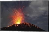 Krakatau Eruption Fine Art Print