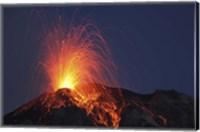 Stromboli Eruption, Aeolian Islands Fine Art Print