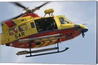 AB-412 Tweety Helicopter Fine Art Print